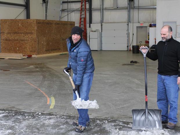 Dave Finds Work in Alaska
