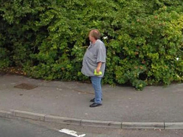 Bob Mewse lost 100 pounds after seeing Google Street View image of himself.