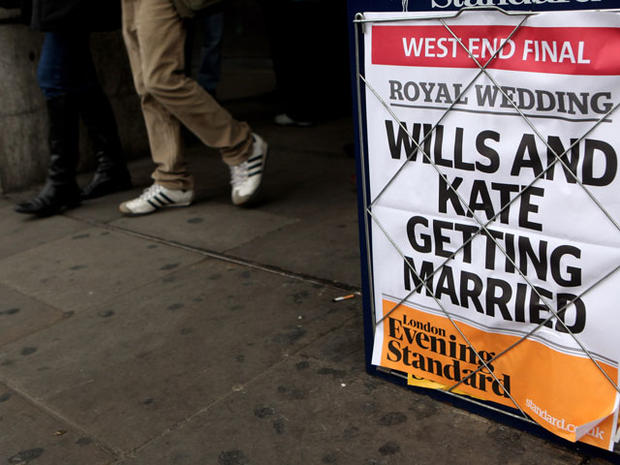 Royal engagement frenzy