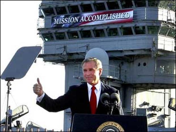 乔治W.布什,使命完成
