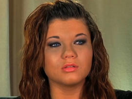 "MTV ""Teen Mom"" Amber Portwood Charged with Domestic Violence"