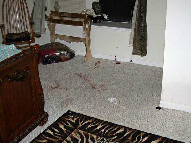 Crime Scene Photos: Shootout at the Hills'