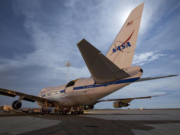 SOFIA Observatory Completes First Astronomy Mission
