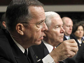Mike Mullen, Robert Gates, gays, DADT