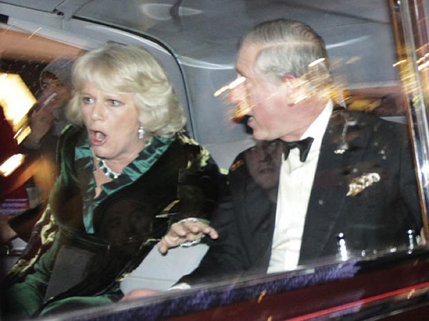 Attack on Royal Couple's Car