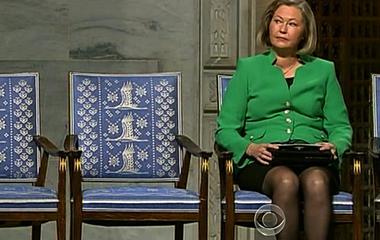 Liu a No Show for Nobel Peace Prize