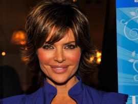 Actress Lisa Rinna attends the DVD launch party for 'Dance Body Beautiful' at Belle Gray on December 9. 2008 in Los Angeles, California