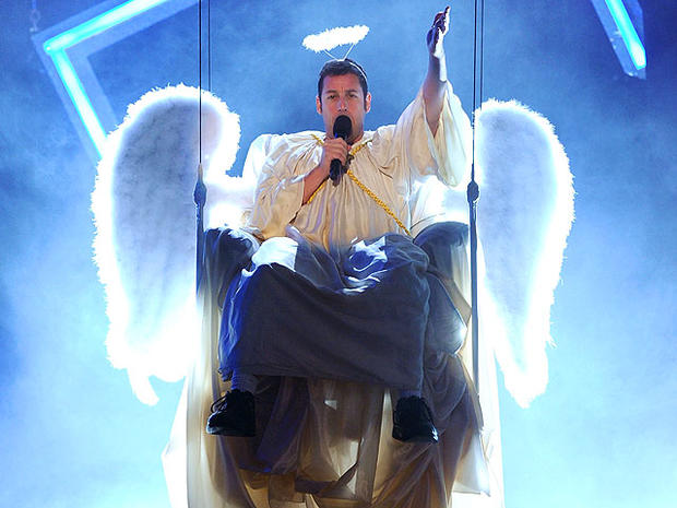 Adam Sandler as an angel in 2010.