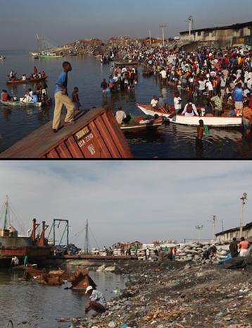 Haiti Quake: Then and Now