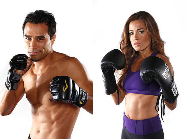 "New ""Biggest Loser"" trainers Brett Hoebel and Cara Castronuova."