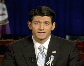 Rep. Paul Ryan, R-Wis., delivers the GOP response to President Barack Obama's State of the Union address