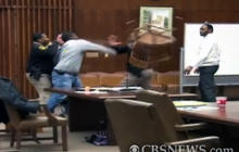 Caught on Tape: Courtroom Brawl