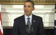 Obama: Don't Hurt Protesters