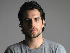 Actor Henry Cavil is shown in an undated photo.