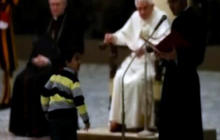 Pope's Security Breached by Young Boy