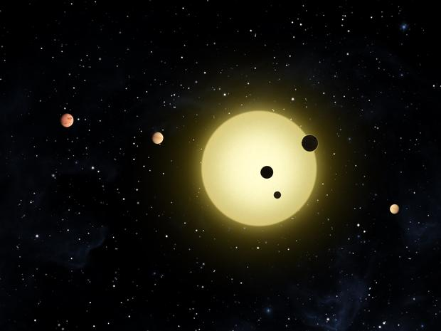 New Planetary System Discovered
