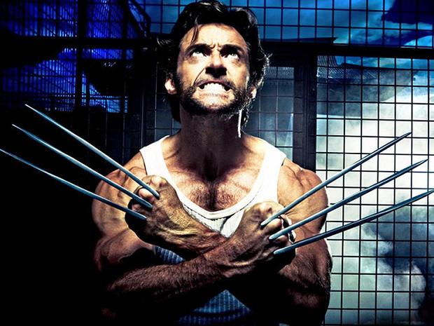 """Hugh Jackman as """"Wolverine."""""""