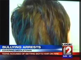 Ohio Teen's Hair Set on Fire on School Bus