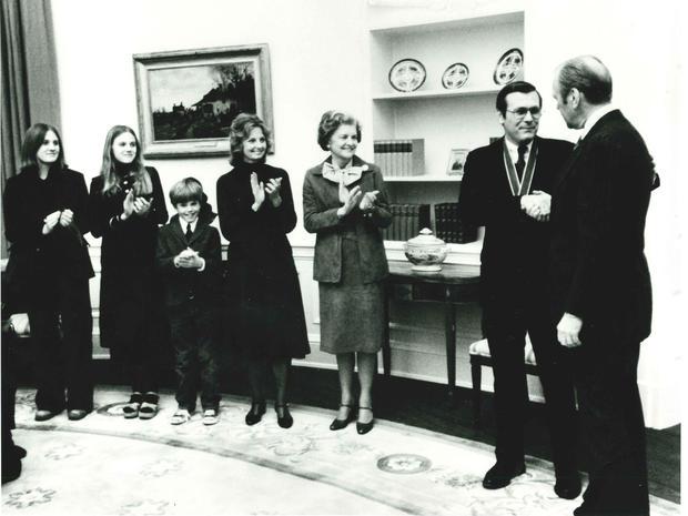 Donald Rumsfeld's Life in Pictures