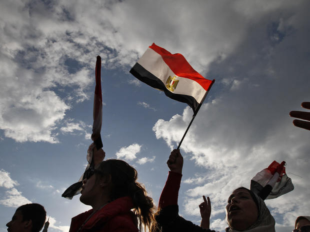 "Egyptian Protesters: ""Game Over"""