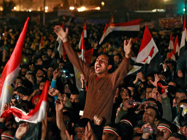Egyptians Celebrate