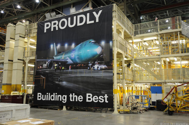 Where Boeing's Next-Gen 747-8 Comes to Life