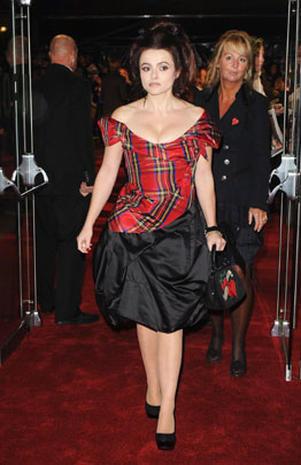 Helena Bonham Carter's Bohemian style