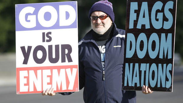 thesis statement westboro baptist church Members that comprised the 59-year-old westboro baptist church in topeka,  kansas, carried their signs with such ugly and painful statements all  hatred is  ultimately the antithesis of a loving god and the corruption of the.
