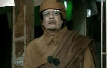 "Qaddafi: Protesters given ""hallucination pills"""