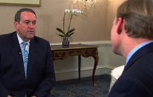 "Mike Huckabee to Scott Walker: ""Stay firm, hang in there"""