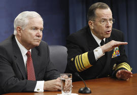 Robert Gates and Mike Mullen