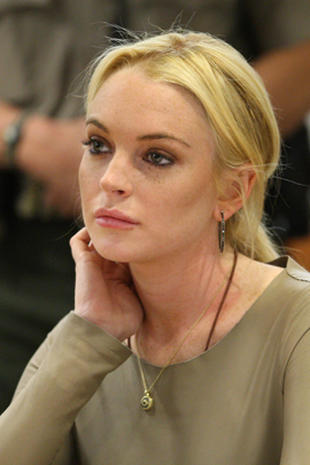 Lindsay Lohan charged with theft