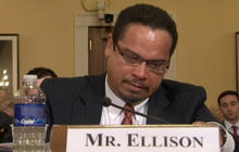 Rep. Keith Ellison breaks down during radicalization hearing