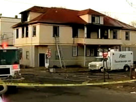 New Haven Fatal Fire Ruled Arson, Being Investigated Triple homicide