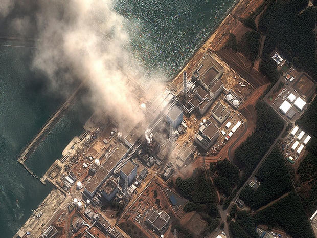 The Fukushima Dai-ichi nuclear plant in northeast Japan