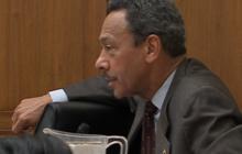 Congressman asks FBI director what Dept. ICE is under