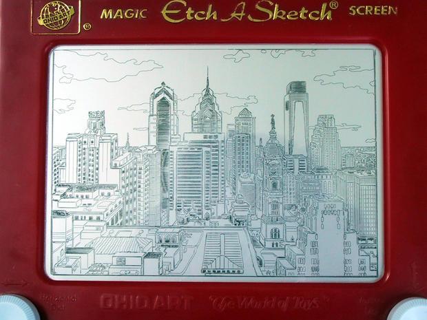 Etch A Sketch art will amaze you
