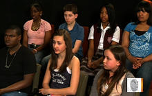 Teens speak out on bullying video