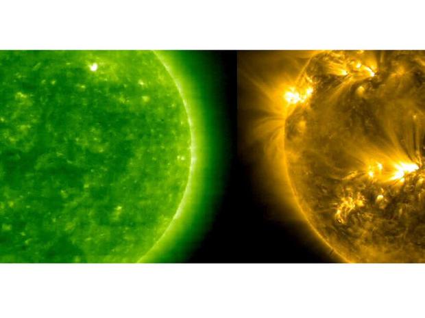 The sun: Quiet no longer