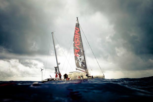 Tracking the Plastiki's  epic ocean journey
