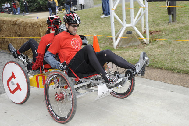 Winners of 18th annual great moonbuggy race