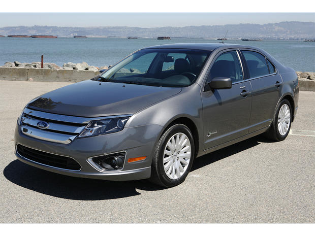 4 Ford Fusion Hybrid Triplets Fuel Efficient Hybrids The Top Five Pictures Cbs News