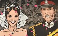 """Kate & William"" - The comic book"