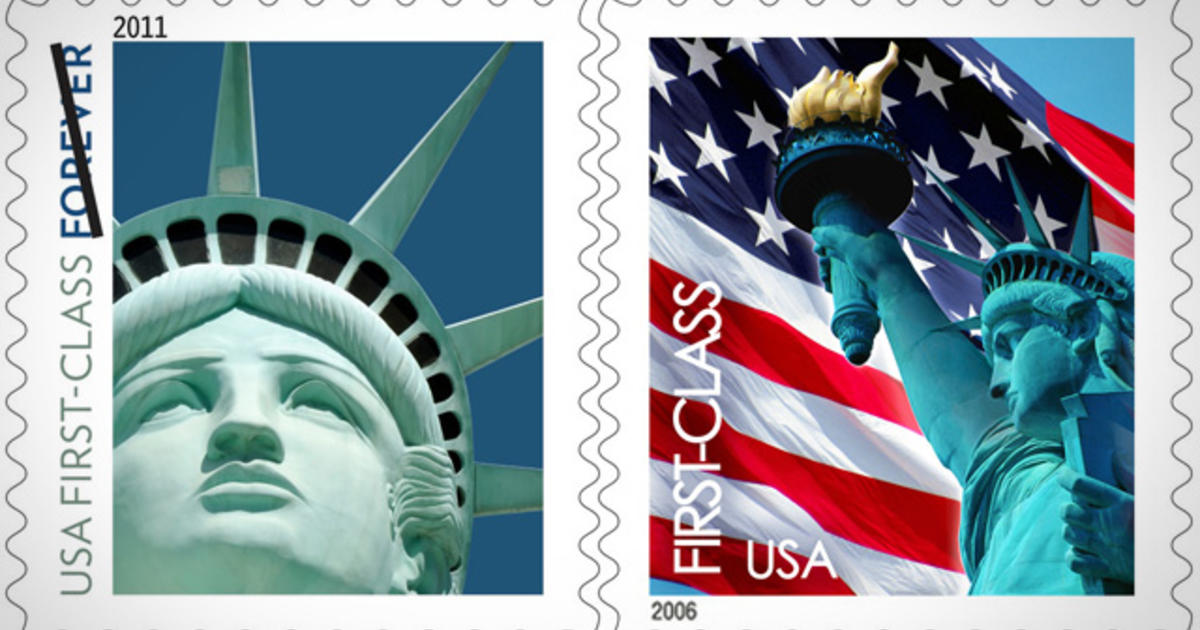 Price Of A First Class Stamp To Go Up By 1 Cent Cbs News