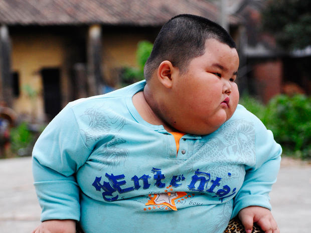 China's 136-pound 4-year-old