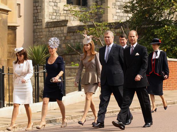 Royal family celebrates Easter