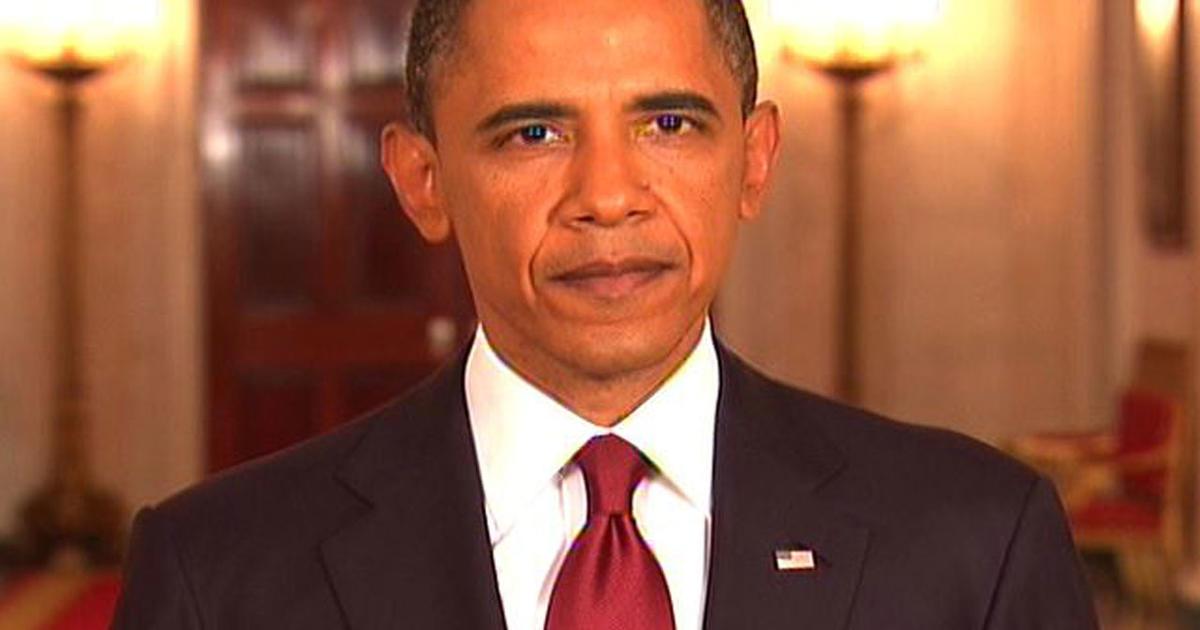 Full text of Obama's speech on bin Laden's death - CBS News Obama Bin Laden Speech