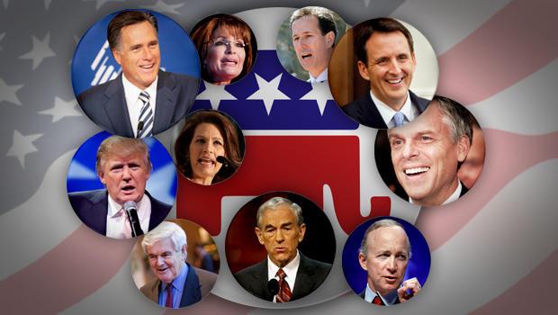 GOP Candidates 2012