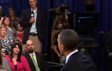 "Obama tells local farmer ""revamping"" of farm system necessary"