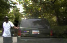 Tased suspect fights back, steals police car - crashes